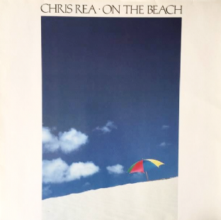 Chris Rea ‎- On The Beach (LP) (EX/VG-EX)